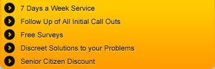 Our Call Out Service: